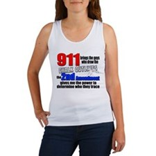 911 Chalk Outlines Tank Top
