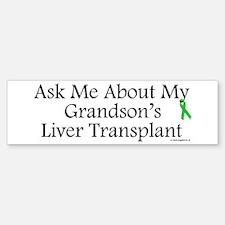 Ask Me Grandson Liver Bumper Bumper Bumper Sticker