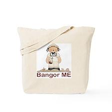 Bangor ME Sailor Tote Bag