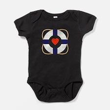 Heart Life Preserver Baby Bodysuit
