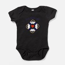 All Aboard! Baby Bodysuit