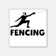 Fencing Sticker