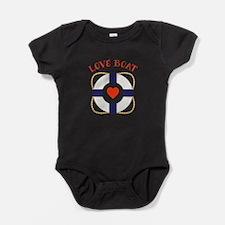 Love Boat Baby Bodysuit