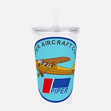Piper Aircraft Corpora Acrylic Double-wall Tumbler