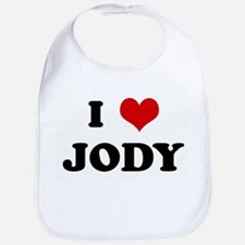 I Love JODY Bib