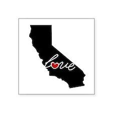 """California Love Square Sticker 3"""" x 3"""""""