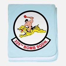 325_bomb_squadron.png baby blanket