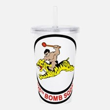 325_bomb_squadron.png Acrylic Double-wall Tumbler