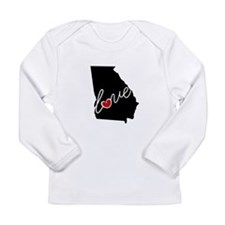 Georgia Love Long Sleeve Infant T-Shirt