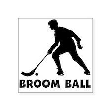 Broom Ball Sticker