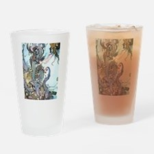 Dulac Mermaid Treasure Drinking Glass