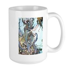 Dulac Mermaid Treasure Mugs