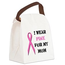 pinkmom.png Canvas Lunch Bag