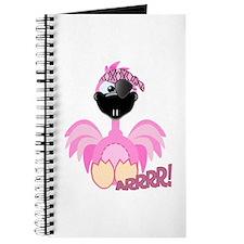 Goofkins Pink Flamingo Pirate Journal