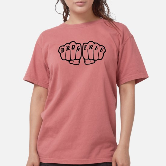 Drug Free Fists - Straight Edge Hardcore T-Shirt