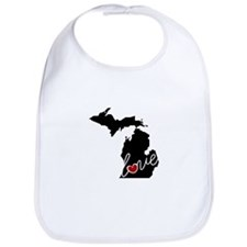 Michigan Love Bib
