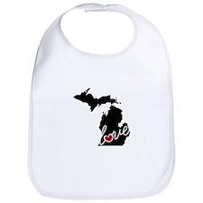 Michigan Love Bib