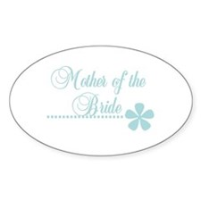 Mother of the Bride Oval Decal