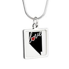 Nevada Love Silver Square Necklace Necklaces