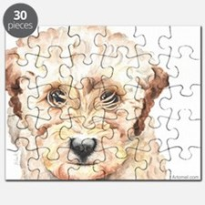 Nala the TP Trailing Toddler Labradoodle Puzzle