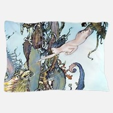 Dulac Mermaid Treasure Pillow Case