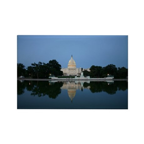 Capitol, Washington DC Rectangle Magnet