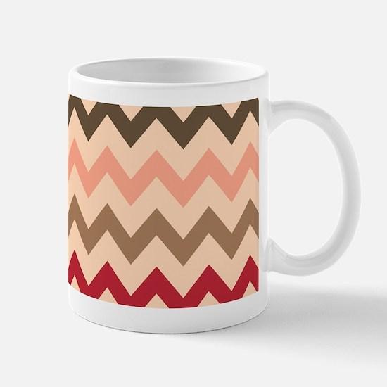 Colorful Chevron Pattern Mug