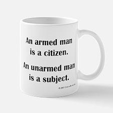 Armed Man Mug
