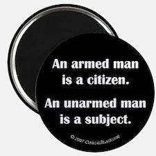 Armed Man Magnet