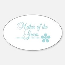 Mother of the Groom Oval Decal