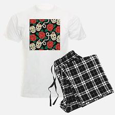 Skulls and Roses Pajamas