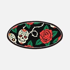 Skulls and Roses Patches