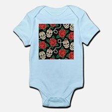 Skulls and Roses Body Suit
