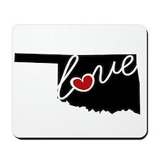 Oklahoma Love Mousepad