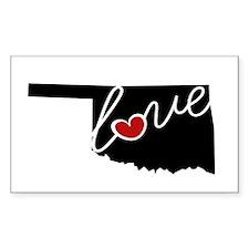 Oklahoma Love Decal