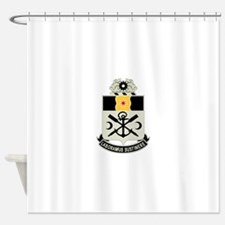 10th Engineer Battalion.png Shower Curtain