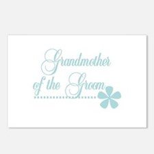 Grandmother of Groom Postcards (Package of 8)