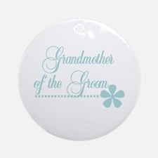 Grandmother of Groom Ornament (Round)