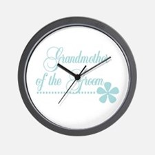 Grandmother of Groom Wall Clock