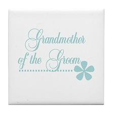 Grandmother of Groom Tile Coaster