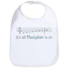 Its All Mixolydian to Me Bib