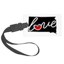 South Dakota Love Luggage Tag