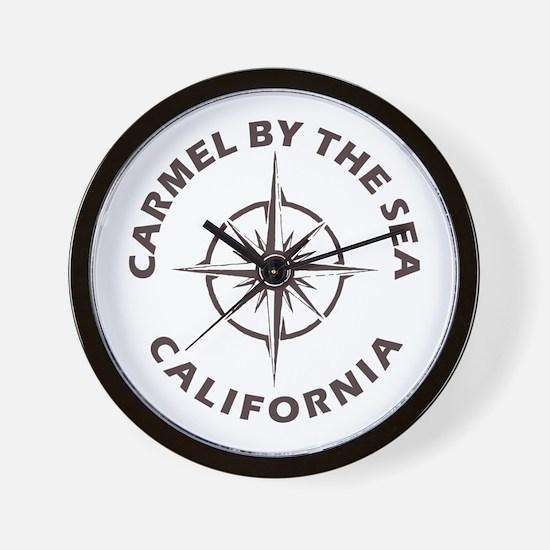 California - Carmel by the Sea Wall Clock