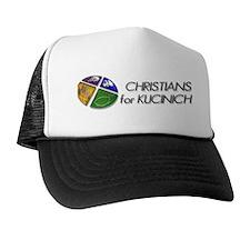 Christians for Kucinich Trucker Hat