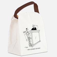 Golf Cartoon 5491 Canvas Lunch Bag