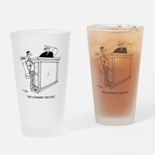 Golf Cartoon 5491 Drinking Glass