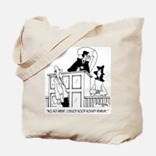 Judge Cartoon 5321 Tote Bag