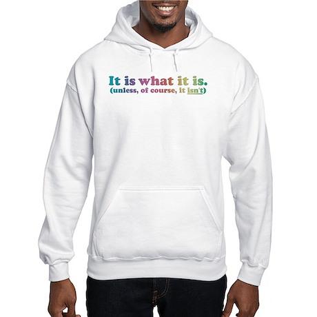 It Is What It Is Multi Hooded Sweatshirt