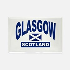 Glasgow Scotland Rectangle Magnet