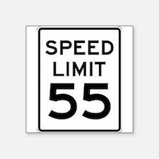55-MPH Speed Limit Day Sticker